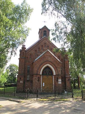 Luga, Leningrad Oblast - St. Nicholas Roman Catholic church (1904)