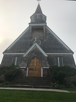Church of Saint Lawrence - Image: Church of St Lawrence in Alexandria Bay, New York. Front