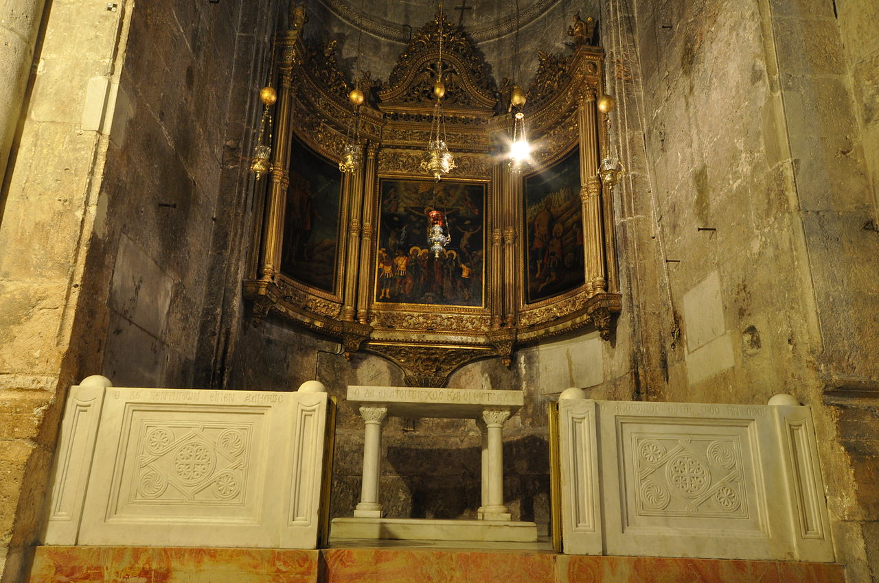 Grabeskirche - Kapelle des Heiligen Longinus - vergrößerbar