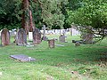 Churchyard, St Marks Church, Ampfield - geograph.org.uk - 860503.jpg