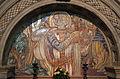 Cimitero dall'antella, cappella di san giorgio, decori della manifattura chini, 1924, 01.JPG