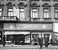 Cipőbolt, Alkotás utca 1-a., Budapest XII. - Fortepan 102708.jpg
