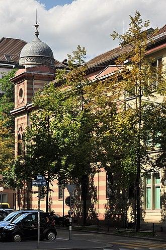 Israelitische Cultusgemeinde Zürich (ICZ) - Synagoge Zürich Löwenstrasse