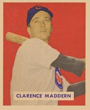 Clarence Maddern - Image: Clarence Maddern