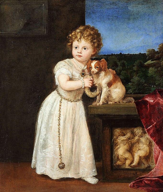 Clarissa Strozzi, por Tiziano