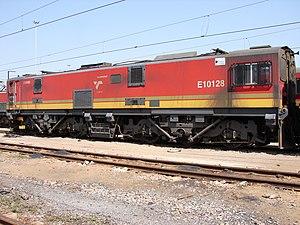 South African Class 10E1, Series 2 - Image: Class 10E1 10 128
