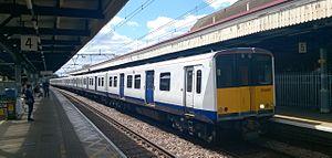 TfL Rail - Image: Class 315 at Romford