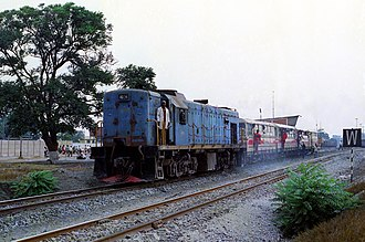 South African Class 32-000 - No. 32-013 at Nkana Mine, 30 September 1993