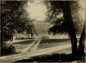 Nina Browne - Smith College, Northampton, Massachusetts, about 1921, where she received her bachelor's (1882) and master's degrees (1885) and worked as an archivist, beginning in 1921.