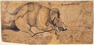 Rao Ram Singh's Elephant Gone Amok