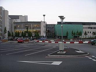 University Hospital Coventry - Image: Clinical sciences building+5u 07