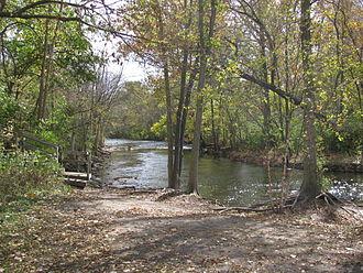 Clinton River (Michigan) - Clinton River at Rochester Hills