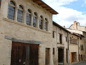 Romanesque house in Cluny.