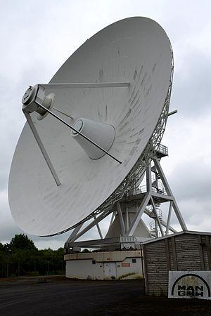 MERLIN - The Cambridge antenna in June 2014