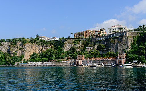 Coast of Sorrento - Campania - Italy - July 12th 2013 - 01