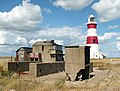 Coastguard lookout, lighthouse and more mysterious military concrete, Orford Ness - geograph.org.uk - 934873.jpg