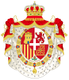 Coat of Arms of King Amadeo of Spain (1871-1873).svg