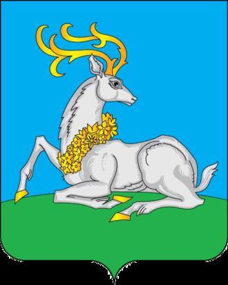Odintsovo - Image: Coat of Arms of Odintsovo (Moscow oblast)