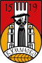 Coat of arms of Kumanovo Municipality.svg