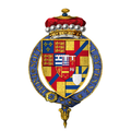 Coat of arms of Sir Arthur Plantagenet, 1st Viscount Lisle, KG.png