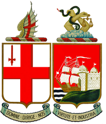 Coat of arms of the Great Western Railway.png