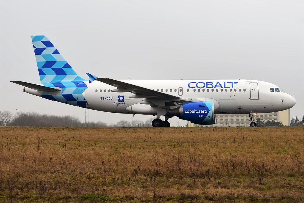 Cobalt, 5B-DCU, Airbus A319-112 (32243653653)