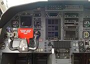 Cockpit PC-12 linke Seite