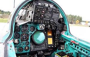 Cockpit of Mikoyan-Gurevich MiG-31 (7).jpg