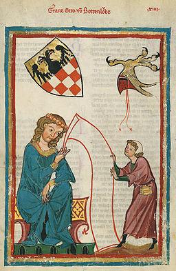 Codex Manesse Otto von Botenlauben