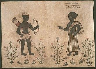 Códice Casanatense - Image: Codice Casanatense Nubians