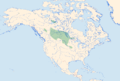Coenagrion angulatum Distribution.png