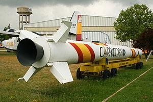 Capricornio (rocket) - Image: Cohete Capricornio (5655343045)