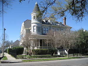 1st Ward of New Orleans - House on Coliseum Square