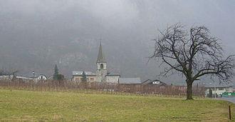 Collonges, Switzerland - Collonges village