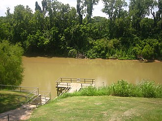 Wharton, Texas - Image: Colorado River of Texas at Wharton IMG 1058