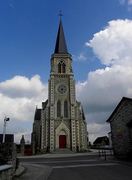 Église Notre-Dame de Commer (53).