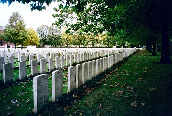 Ypres Reservoir Commonwealth War Graves Commission Cemetery