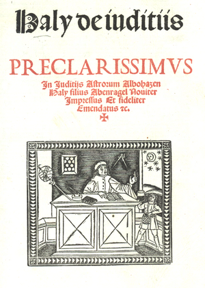 Haly Abenragel - Complete Book on the Judgment of the Stars from 1523