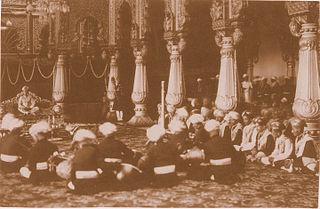 Musicians of the Kingdom of Mysore