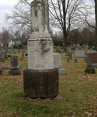 National Register of Historic Places listings in Woodford County, Kentucky - Image: Confederate Monument in Versailles