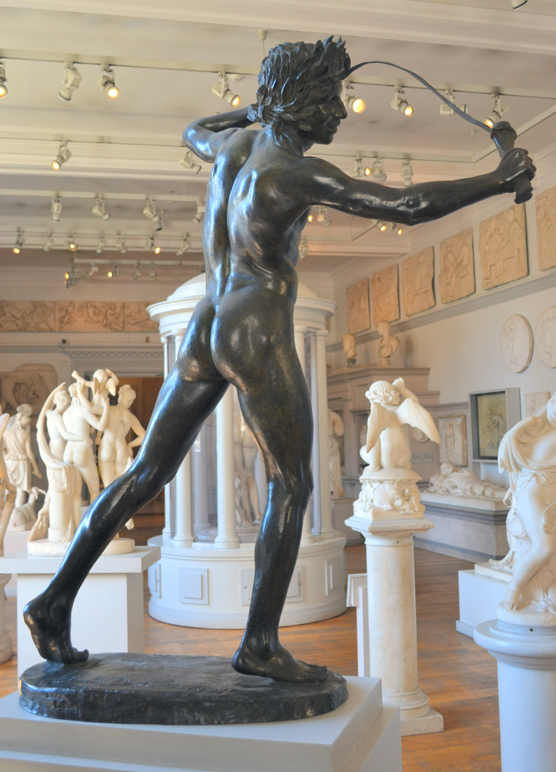 Conrad Dressler (1856-1940) - Lupercalia (1907) back right, Walker Art Gallery, Liverpool, May 2012 (7613067678).png