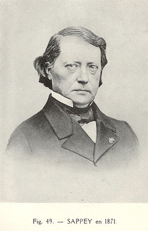 Marie Philibert Constant Sappey - Constant Sappey (1810-1896)