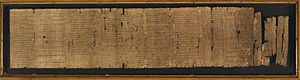 Ancient Greek law - The Aristotelian Constitution of the Athenians, now in the British Library (Oxyrhynchus Papyrus 131)