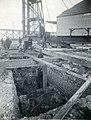 Construction de la partie ouest de la salle des machines de l'usine Price à Riverbend, Alma (Québec).jpg