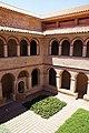 Convent de Santa Anna (Alcover), vista del claustre des del pis superior.jpg
