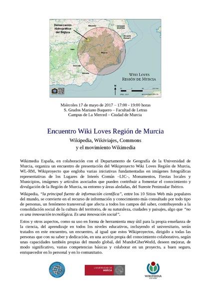 Archivo:Convocatoria encuentro wl-rm 20170517.pdf - Wikipedia, la ...