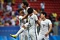 Coréia do Sul x México - Futebol masculino - Olimpíada Rio 2016 (28868025476).jpg