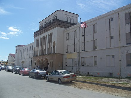 Miami Senior High School, Miami's oldest continuously used high school structure Coral Gables FL Miami Senior High04.jpg