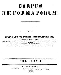 Corpus Reformatorum