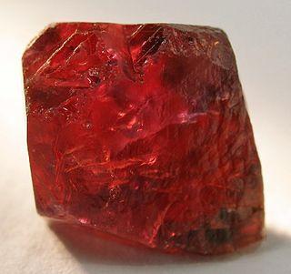 Ruby Variety of corundum, mineral, gemstone
